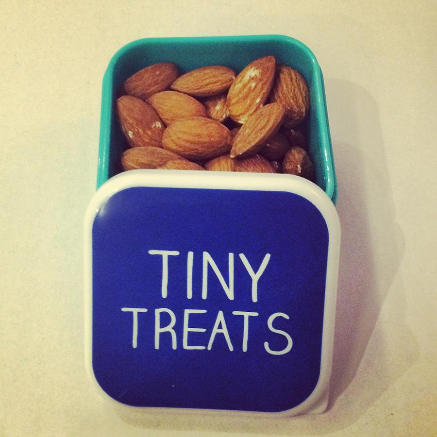 almon snack small