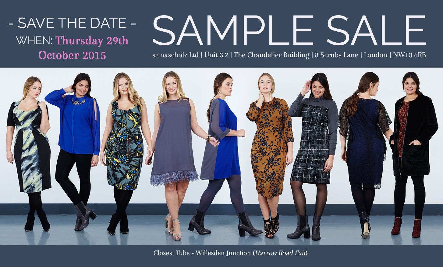 SAMPLE SALE 29 October 2015 BL