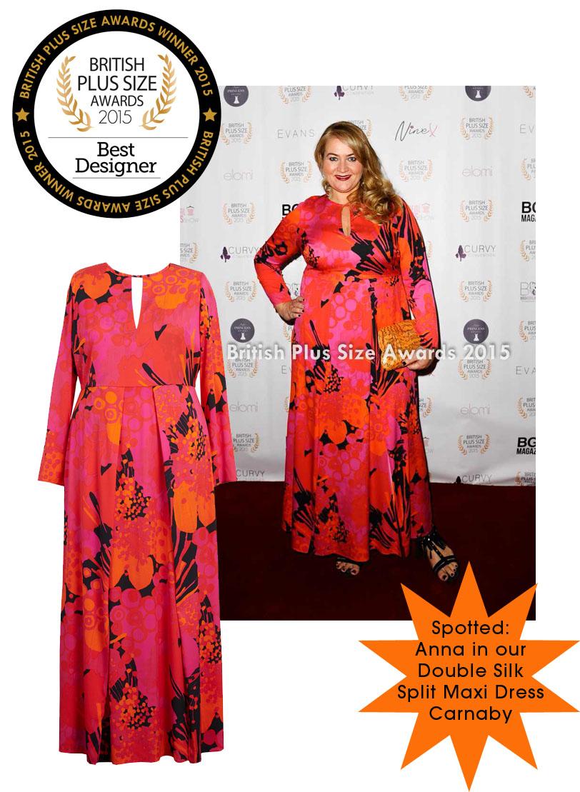 Anna Scholz Plus Size Awards