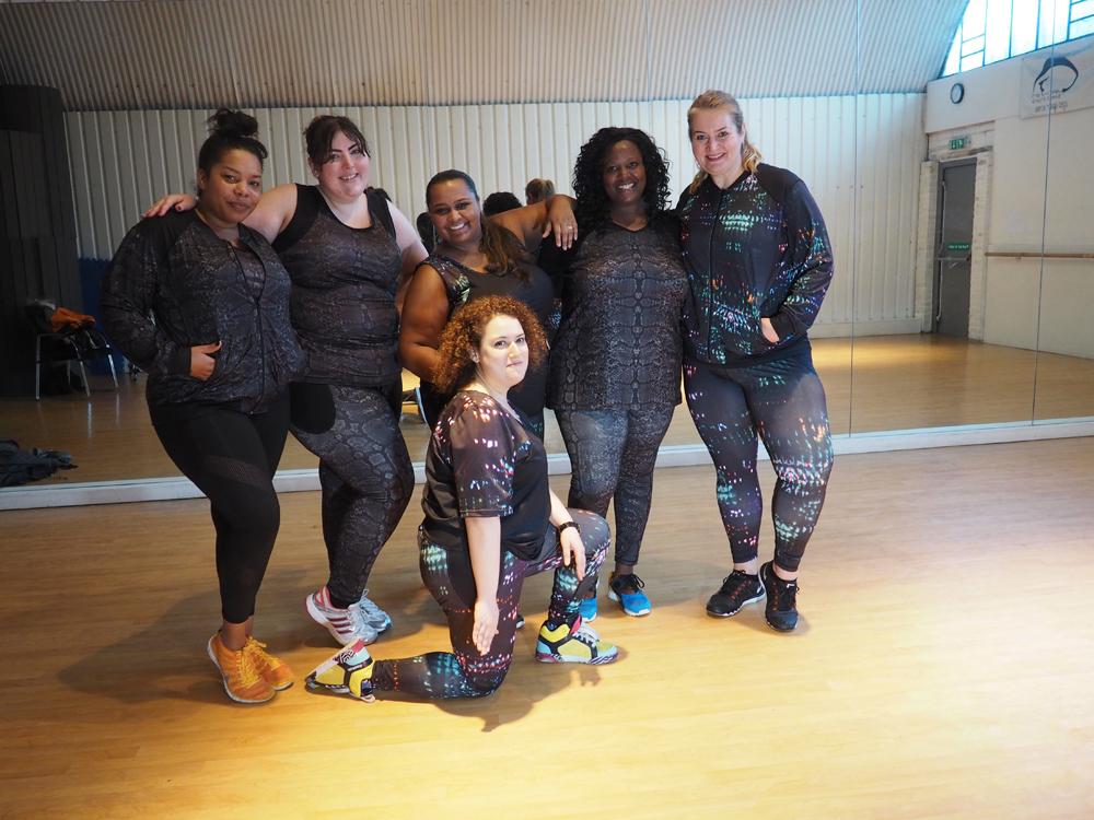 Anna Scholz Fitness Wear Blogger Event