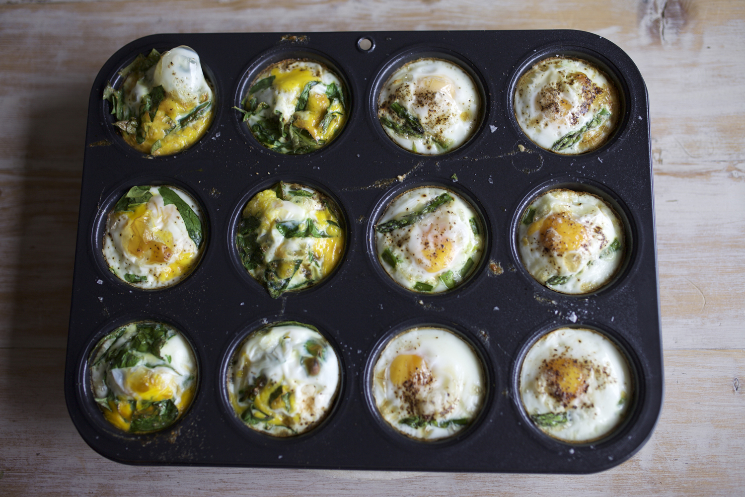 egg muffins cooked small