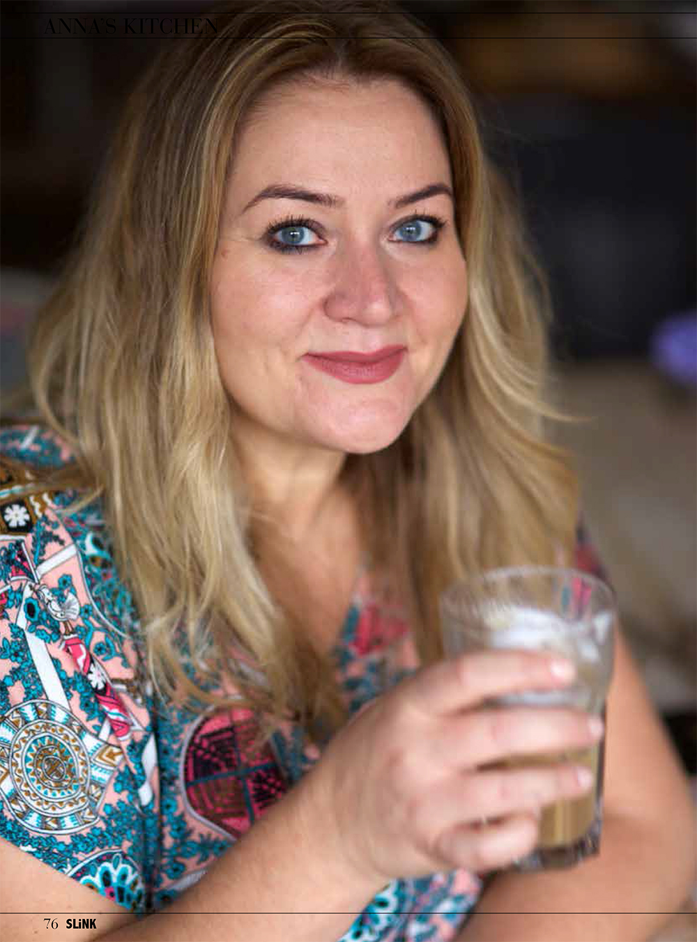 Anna Scholz Anna's Kitchen for Slink Magazine