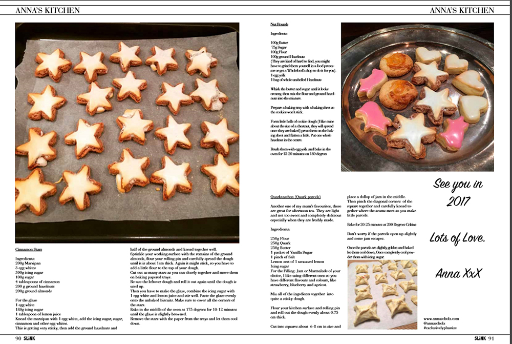 Christmas Biscuit Baking