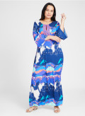 Double Silk Maxi Kaftan