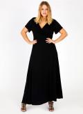 Maxi Wrap Dress Plain