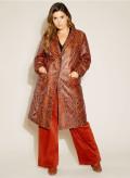 Leather Boyfriend Coat