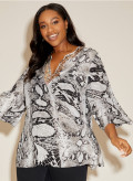 Silk Sequin Kaftan