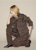 Denim Leopard Jacket