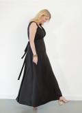 Sleeveless Maxi Wrap Dress
