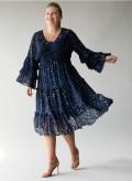 Georgette Frill Dress