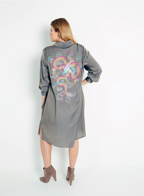 Dragon Shirt Dress