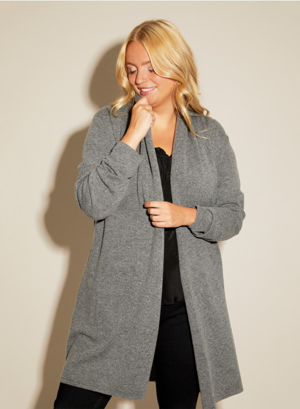 Cashmere Blend Shawl Collar coat