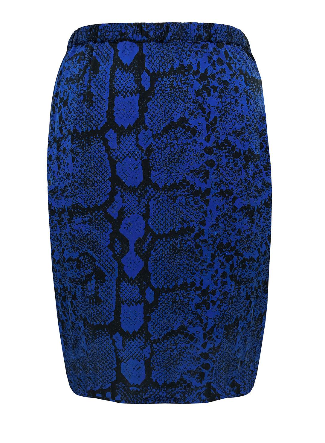 4e271d0036c Anna Scholz Plus Size Double silk eyelet skirt