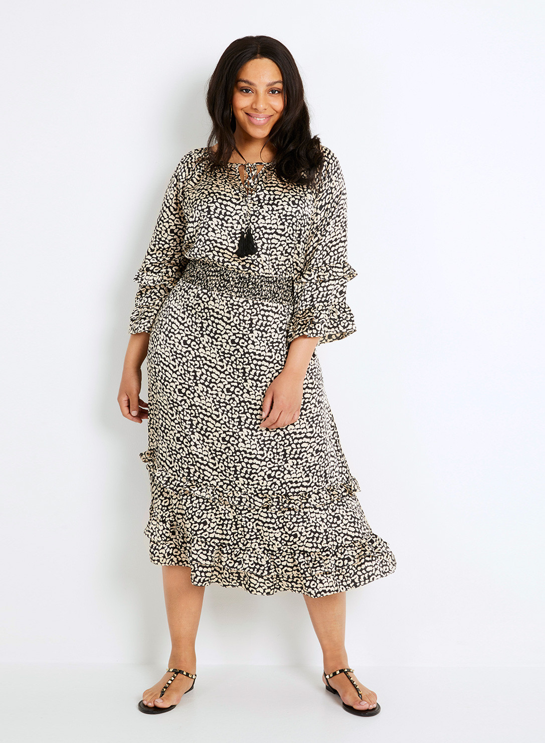 Anna Scholz Plus Size Boho Dress