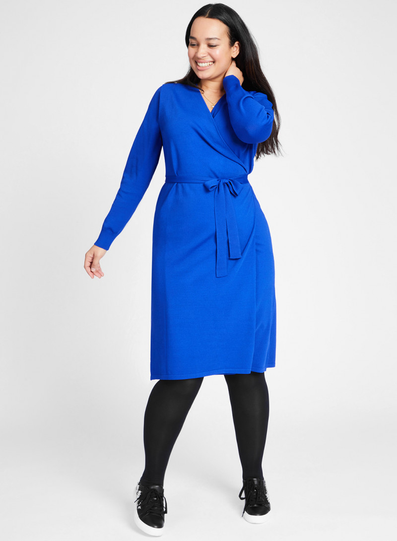 871c226794bf8 Knitted Wrap Dress.  175.00 · Knitted Wrap Top - Plus Size Clothing