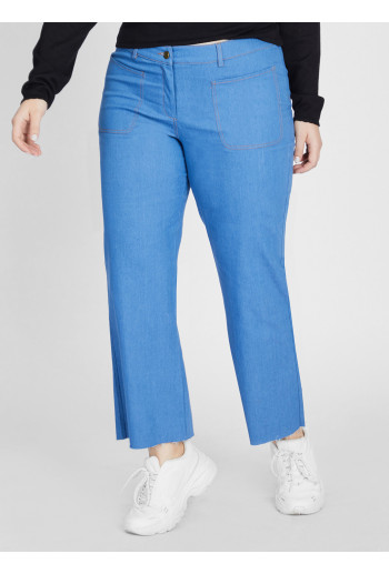 CROPPED STAR JEANS