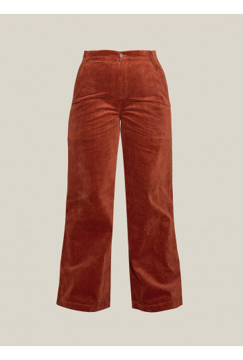 Corduroy Wideleg Trousers