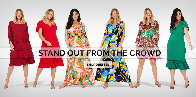 Designer Plus Size Fashion: Stylish Women\'s Luxury Clothing